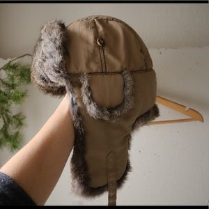 Super awesome Mad bomber hat with fur 191020007